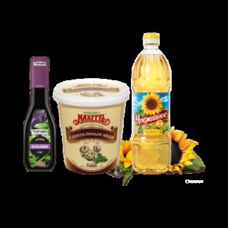 Растительные масла / майонез / приправы