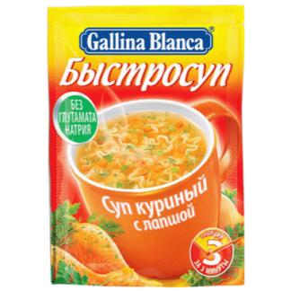 Быстрый суп Курица с лапшой