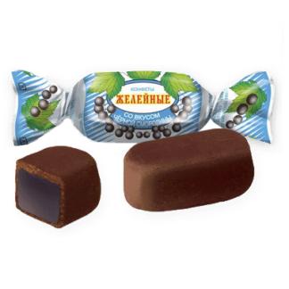 Конфеты желейные со вкусом смородины