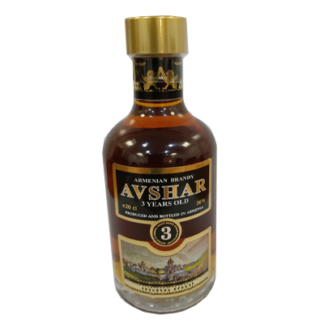 Армянский бренди AVSHAR 0,2L 3 years old 36% ברנדי אבשר ארמניה