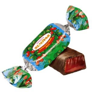 Конфеты желейные с барбарисовым вкусом