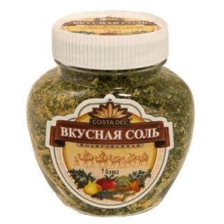 Вкусная соль йодированная 7 блюд 400 гр. מלח עם תבלינים