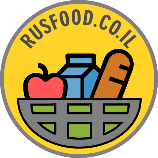 Логотип RusFood.co.il