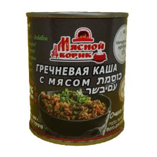 Гречневая каша с мясом 300 гр.