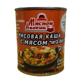 Рисовая каша с мясом 300 гр. אורז עם בשר