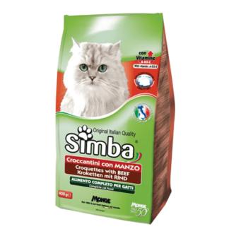 Сухой корм для кошек со вкусом говядины 2 кг. אוכל יבש לחתולים