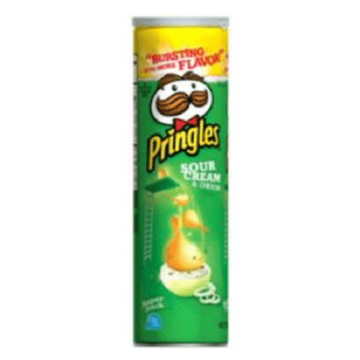 Чипсы Принглс 170 гр. Со вкусом сметаны צ'יפס פרינגלס