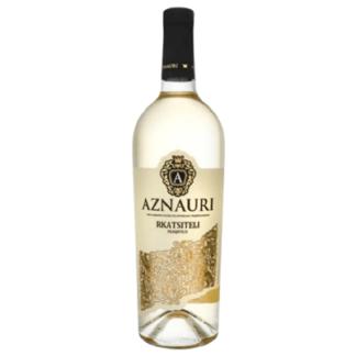 Вино AZNAURI RKATSITELI 0.75 L. יין לבן יבש