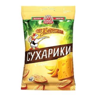 Сухарики Мартин со вкусом сыра 60 гр. צנימים מרטין גבינה
