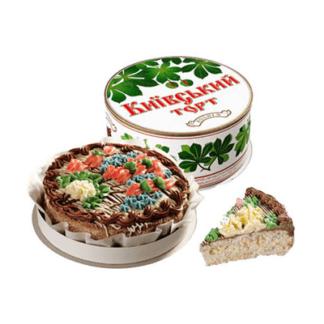 Торт Киевский Рошен 450 гр. עוגה קייבסקיי