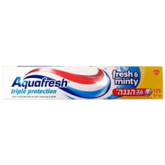 Зубная паста Аквафреш Мента 125 мл. אקוופרש