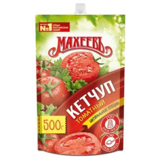 Кетчуп Махеев томатный дой пак 500 гр. מאחייב קטשוף