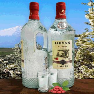 Водка Кизиловая IJEVAN 750 мл. 50%