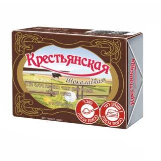 Шоколадное масло Крестьянское 200 гр. חמאת שוקולד