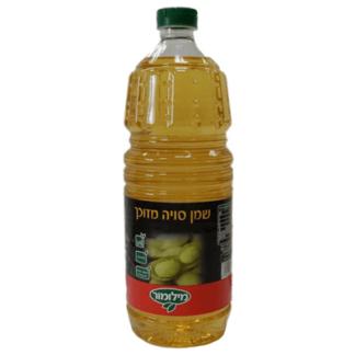 Масло соевое Меламор 1 л. שמן סויה מילמור