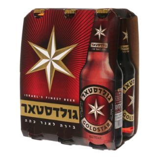 Пиво Goldstar 0.33 L. בירה גולדסטאר