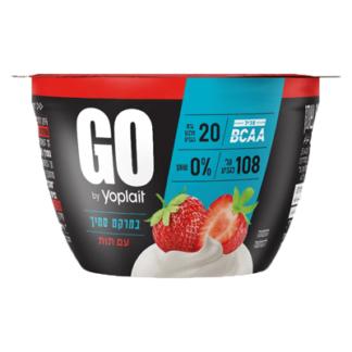 Йогурт йопле GO 0% клубника יוגורט גוו 0%