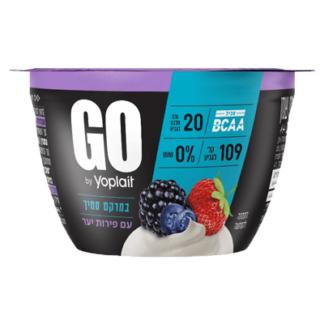 Йогурт Йопле GO 0% лесные ягоды