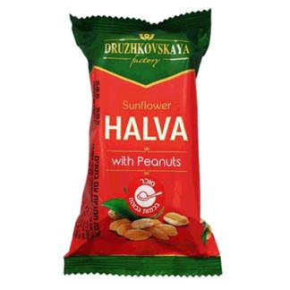 Халва подсолнечная с арахисом 200 гр. חלווה חמניות עם בוטנים