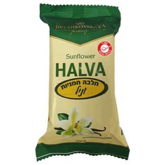 Халва подсолнечная ванильная 200 гр. חלווה חמניות וניל