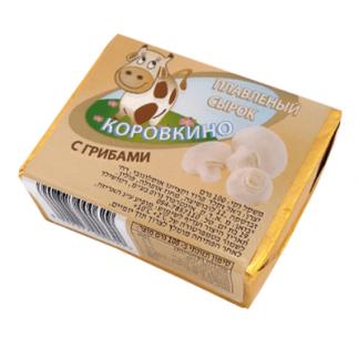 Плавленый сырок с грибами 100 гр. גבינה מותכת עם פטריות