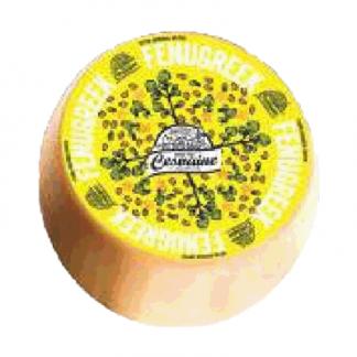Сыр Гауда с пажитником и кедровыми орехами (Латвия) גאודה עם חילבה(לטביה)