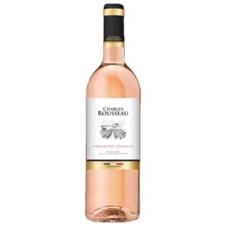 Вино Чарльз Руссо розе сухое 0.75 L. (Франция) יין רוזה יבש