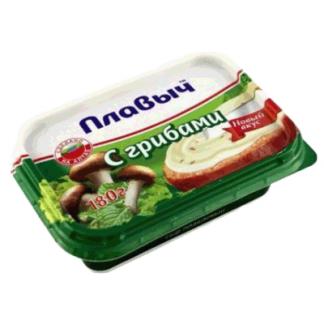 Сливочный сыр Плавыч с грибами 180 гр. גבינה עם פטריות