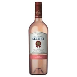 Вино Le grand secret 0,75L. розовое, сухое יין רוזה יבש 750 מל