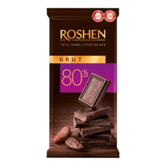 Шоколад Рошен горький 80% 90 гр. שוקולד מריר