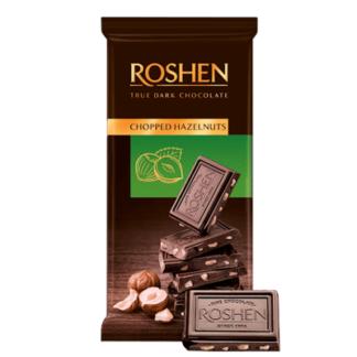 Шоколад Рошен горький с фундуком 90 гр. שוקולד מריר עם פונדוק