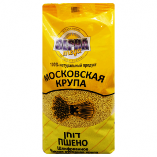 Пшено Московская крупа 800 гр. דוחן