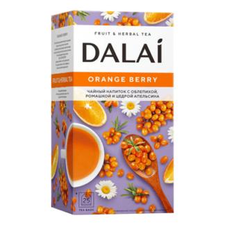 Чай Далай с облепихой, ромашкой и цедрой апельсина 25 пак תה עם אובליפיחה