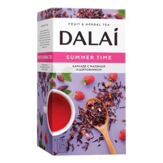Чай Далай с малиной и шиповником 25 пак תה בטעם פטל