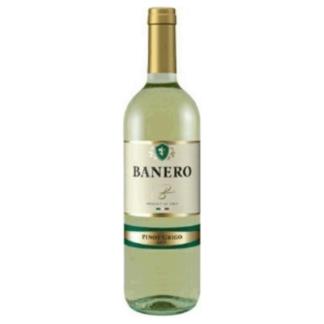 Вино Банеро 0,75L. белое, сухое יין לבן יבש באנרו