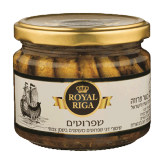 Шпроты Royal Riga в масле 440 гр. שפרוטים בשמן