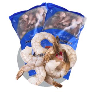 Креветки XL свежемороженные 500 гр. שרימפס