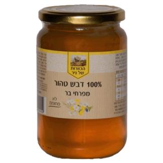 Мед из полевых цветов 1 л. דבש פרחי בר