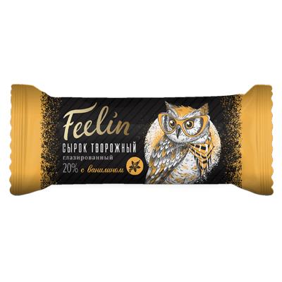 Сырок творожный Филин Ваниль в шоколаде 40 гр.