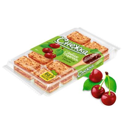 Сдобные палочки с вишнёвым джемом Снежка עוגיות עם דובדבן