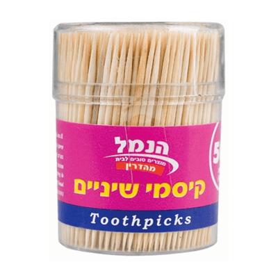 Зубочистки 500 шт. קיסמי שיניים