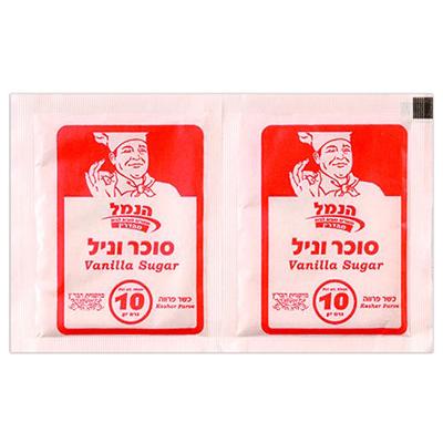 Сахар ванильный 10х10 гр. סוכר וניל