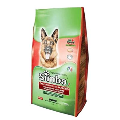Сухой корм для собак со вкусом говядины 4 кг. אוכל יבש לכלבים