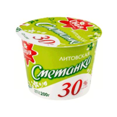 Сметанка Сваля 30% 200 гр. שמנת חמוצה