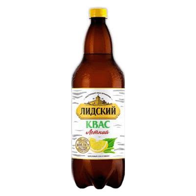 Квас Лидский Летний с лимоном и берёзовым соком 1.5 л. קוואס ליטני