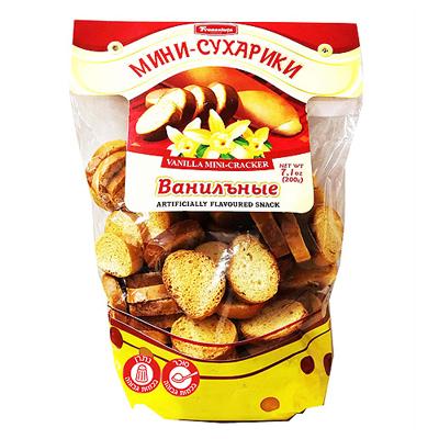 Сухарики ванильные мини 200 гр. סוכריקי וניל