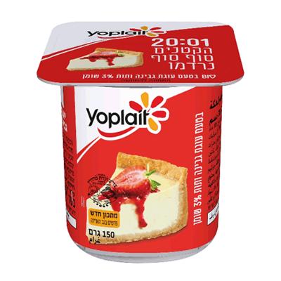 Йогурт Иопле 3% творожный пирог יוגורט יופלה 3% עוגת גבינה