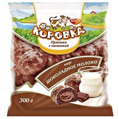 Пряники Коровка с шоколадом
