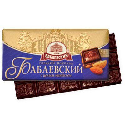 Шоколад Бабаевский с миндалём