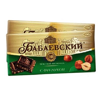 Шоколад Бабаевский с Фундуком 100 г. שוקולד באבייב עם פונדוק